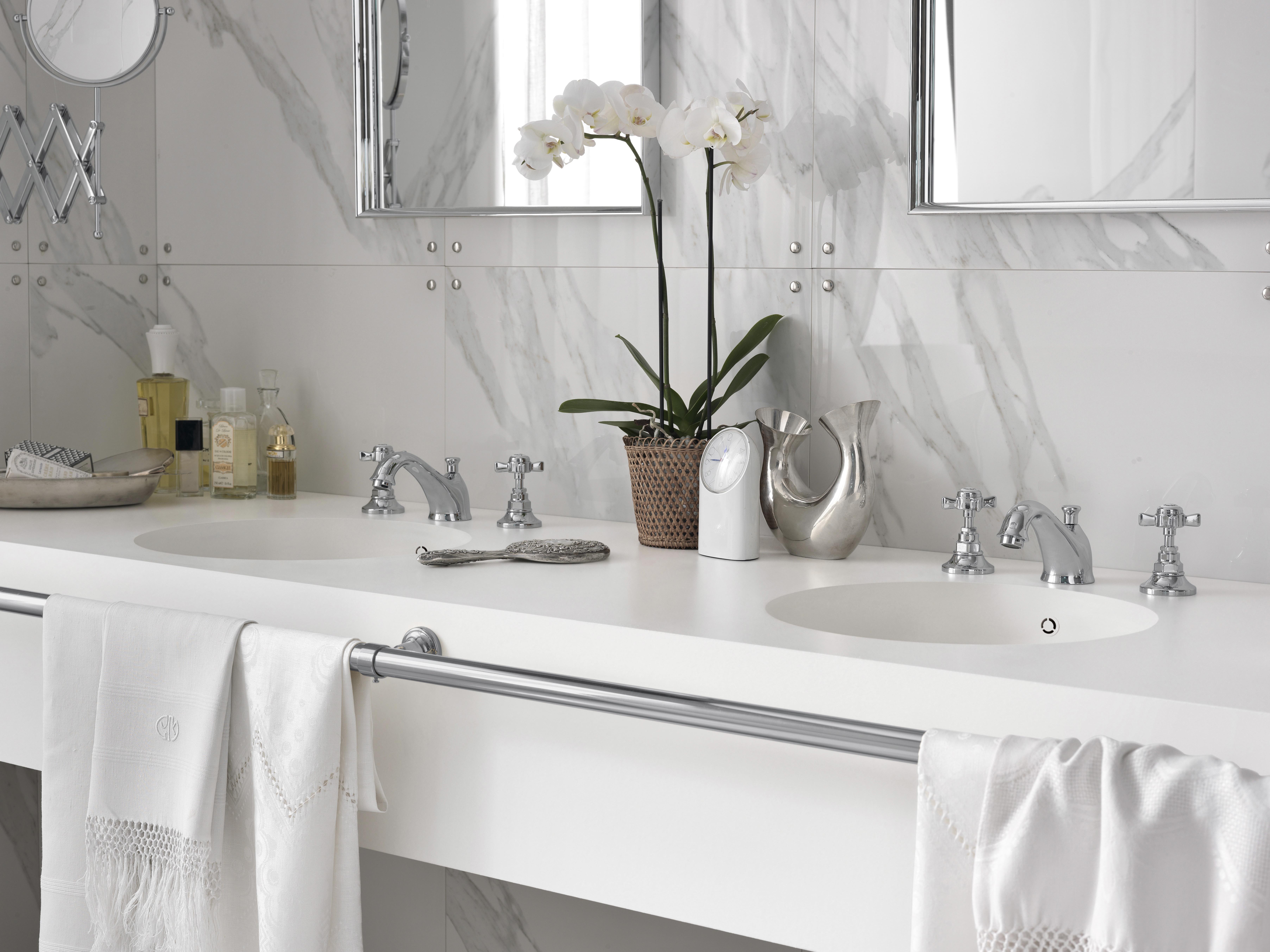 corian® per i piani bagno - dupont™ corian® solid surfaces, corian® - Arredo Bagno Corian